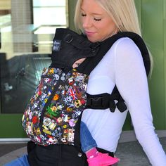 Tokidoki LILLEbaby COMPLETE All Seasons - Most Versatile Carrier | best baby carrier, ergonomic, organic, stylish | LÍLLÉbaby. Fierce and stylish with tons of comfort.