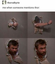 IF THIS ISN'T ME I DON'T KNOW WHAT IS. I literally LOVE Thor and the fact that it is Chris Hemsworth made it 100% better in life. ❤️