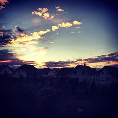 sunset @parents home