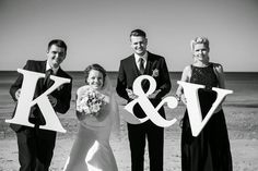 K&V big letters made by www. Big Letters, Projects To Try, Wedding Ideas, Large Letters, Wedding Ceremony Ideas