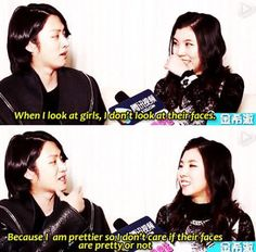 Ohhhhh Heechul || But he's right though XD