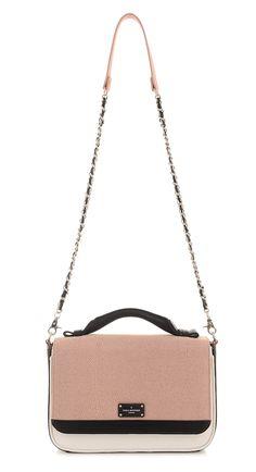 f67a250c1de Paul's Boutique HS15 Collection || Nicole cross-body bag in Textured Dusty  Pink. www.paulsboutique.com #paulsboutique