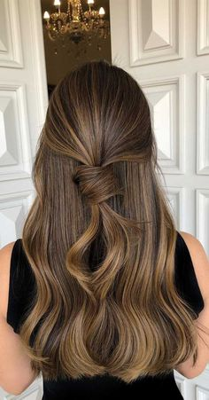51 Gorgeous Hair Color Worth To Try This Season - balayage hair color, light brown hair color ideas, hair colours 2019 hair color trends, best - Gorgeous Hair Color, Hot Hair Colors, Cool Hair Color, Brown Hair Colors, Hair Color Shades, Hair Color Highlights, Hair Color Balayage, Brunette Hair With Highlights, Brown Hair With Highlights