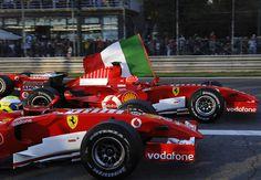 Massa & Schumacher - Monza 29/10/2006