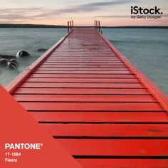 This pantone fiesta pier would be an idyllic setting for a wedding ceremony looking out onto the ocean.  Credit:www.getty.images@tumblr.com #WedPin #AcademyLive #Wedding