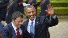 Renzi and Obama