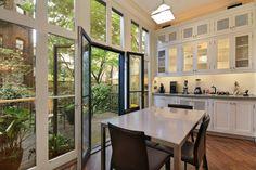 Kitchen with balcony- brooklyn