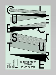 Guest Lecture Festival on Behance