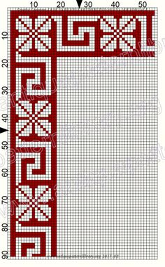 Gallery.ru / Фото #182 - Le Filet Ancien au Point de Reprise VI - gabbach Cross Stitch Pillow, Cross Stitch Bookmarks, Beaded Cross Stitch, Cross Stitch Borders, Cross Stitch Charts, Cross Stitch Designs, Cross Stitching, Cross Stitch Embroidery, Cross Stitch Patterns