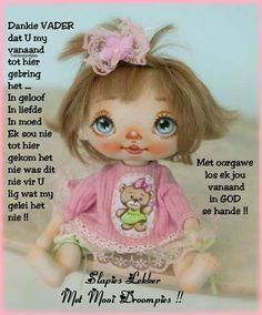 Goeie Nag, Goeie More, Afrikaans, Night, Quotes, Qoutes, Quotations, Afrikaans Language, Sayings