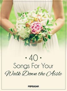 "Your big day is around the corner, and you are dreading taking your walk down the aisle to ""Here Comes the Bride"". Not to worry, you don't have to settle. We've picked out 40 songs for your walk down the aisle that will still keep you feeling special!"