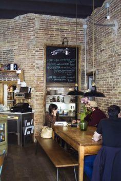 Yellow Pillows: Diariodeco6: Cafeterias con encanto #diariodeco6