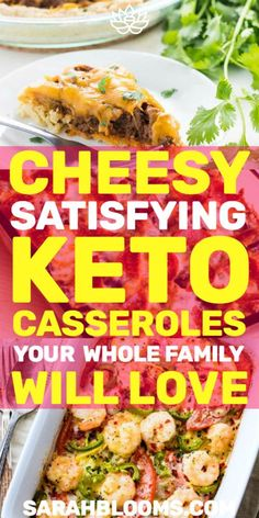 Make healthy meals your family will love with these Quick + Easy Keto Casseroles that are so delicious you won't believe they're diet friendly! Healthy Recipes On A Budget, Cooking On A Budget, Paleo Recipes, Cooking Recipes, Recipes Dinner, Delicious Recipes, Holiday Recipes, Dessert Recipes, Clean Eating