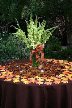 Wedding, Flowers, Reception, Pink, Bouquet, Centerpiece, Orange, Decor