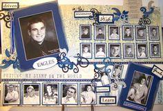 high school graduation memory table idea | Graduation Party Ideas to use at your teen's high school graduation ...