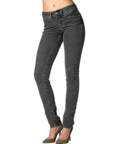 Another great find on #zulily! Charcoal Suki Skinny Jeans - Women by Silver Jeans Co. #zulilyfinds