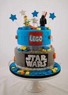 Cake for boys Star Wars - Gateau D'anniversaire Pour Enfants Garcon Star Wars - Verjaardagstaart