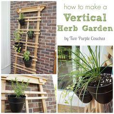How To: Make a Vertical Herb Garden