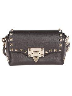 VALENTINO STUDDED MINI SHOULDER BAG.  valentino  bags  shoulder bags   leather af635edc83b77