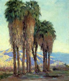Palms - Guy Rose