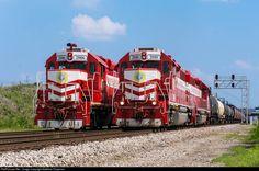 RailPictures.Net Photo: TRRA 2010 Terminal Railroad Association of St. Louis EMD GP38-3 at Saint Louis, Missouri by Matthew Chapman