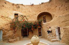 Tunisia Matmata Sahara Desert