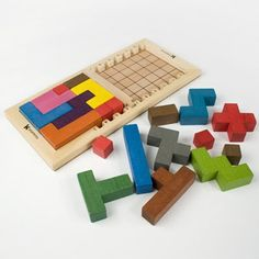 Katamino Wooden Puzzle
