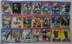 1990 Score New York Jets Team Set of 21 Football Cards #NewYorkJets