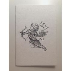valentines day card i made for my better half @whatelliedidx #illustration #woodcut #etching #engraving #valentines #cupid