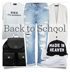 School Style by madeinmalaysia on Polyvore featuring Proenza Schouler, Genetic Denim, NIKE and Coach