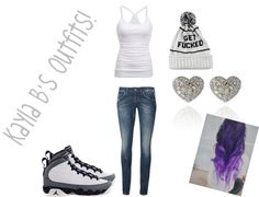 """""""Normal Outfit"""" by kaylaadoee ❤ liked on Polyvore"""