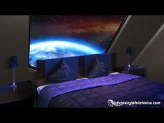 (7) Starship Sleeping Quarters | Sleep Sounds White Noise with Deep Bass 10 Hours - YouTube