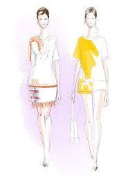 Image result for tory burch fashion sketches
