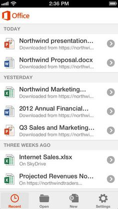 Office Mobile for Office 365 subscribers for iPhone. Microsoft Office Mobile is the official Office companion optimized for your iPhone. You can access, view and edit your Microsoft Word, Microsoft Excel and Microsoft PowerPoint documents from virtually anywhere. Documents look like the originals, thanks to support for charts, animations, SmartArt graphics and shapes. When you make quick edits or add comments to a document, the formatting and content remain intact.