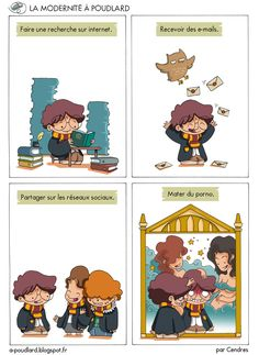 À Poudlard / At Hogwarts - Harry Potter Parody Harry Potter Hermione, Harry Potter Memes Clean, Harry Potter Parody, Images Harry Potter, Harry Potter Fan Art, Harry Potter Francais, Laughing Funny, Geek Humor, Anime Manga
