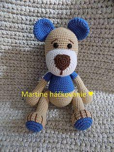 MartaZ / maco modrý Teddy Bear, Toys, Animals, Animales, Animaux, Gaming, Games, Toy, Animais