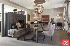 Luxe interieur inspiratie met design meubels | eetkamer design | dining room | dining room design ideas | Hoog.design