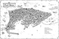 City Maps for the Midlands – Low Fantasy Gaming games Fantasy City Map, Fantasy Town, Fantasy Castle, Fantasy Places, Fantasy World, Map Background, Fantasy Setting, Warhammer Fantasy, City Maps