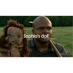 I love that she was given this doll by another girl her age at their original camp in the first season.