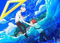 Tsuritama ending made me sad >.