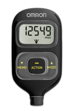 Omron HJ-203 Pedometer and Activity Tracker - A very basic and affordable tracker.