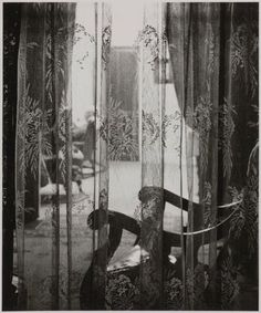 Wright Morris (American, 1910–1998), Curtained Window, 1947