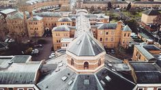 Our building from above. #december #dji #drone #mavicpro #london #2016 #buildings #old
