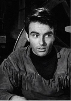 Gorgeous Montgomery Clift in his first movie Red River