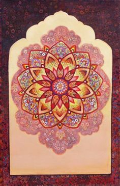 Beautiful~ Isfahan Mandala - Oil Painting by Ivan Lloyd