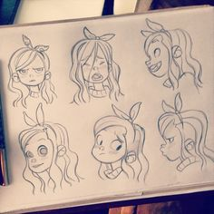 #sketching #girls #facialexpressions
