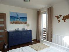 Ložnice v přímořském stylu