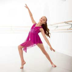 Unforgettable Pink Lyrical Dress dazzle-dancewear.co.uk