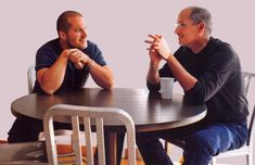 Steve Jobs and Jon Ivy