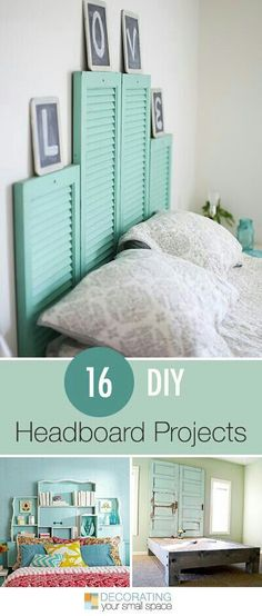 16 DIY Headboard Projects | Pugul